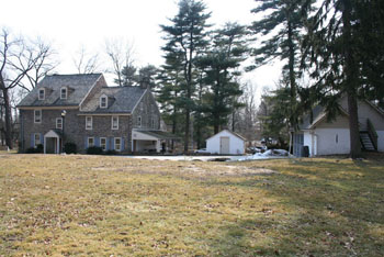 Current photo of Richard Wall House Museum grounds