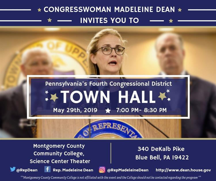Congresswoman Dean May Town Hall May
